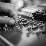 Picture of Kleio amplifier enclosure manufacturing process