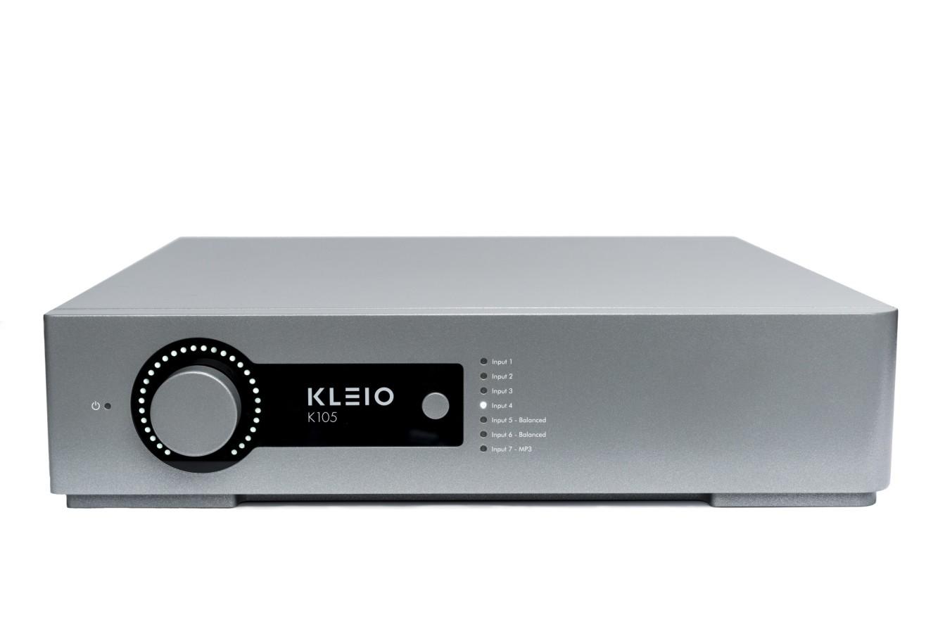 Front profile picture of Kleio K105 pre-amplifier